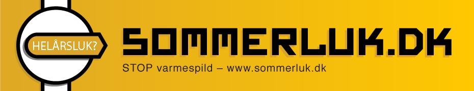 Sommerluk.dk - banner